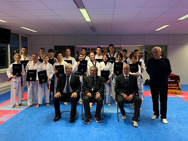 DAN-Prüfung im Taekwon-Do Center Stuttgart e.V.